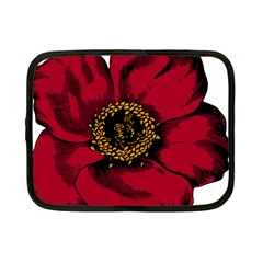 Floral Flower Petal Plant Netbook Case (small)