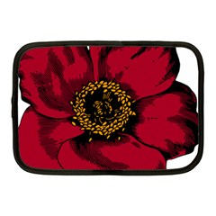 Floral Flower Petal Plant Netbook Case (medium)