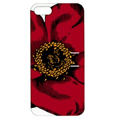 Floral Flower Petal Plant Apple Iphone 5 Hardshell Case With Stand