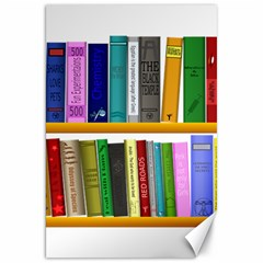 Shelf Books Library Reading Canvas 20  X 30