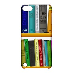 Shelf Books Library Reading Apple Ipod Touch 5 Hardshell Case With Stand