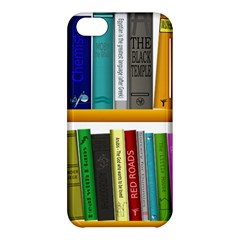 Shelf Books Library Reading Apple Iphone 5c Hardshell Case