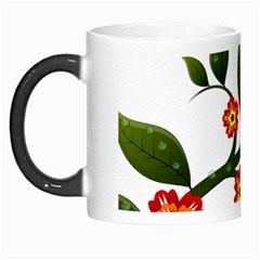 Flower Branch Nature Leaves Plant Morph Mugs