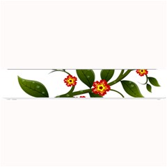 Flower Branch Nature Leaves Plant Small Bar Mats