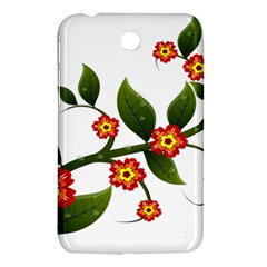Flower Branch Nature Leaves Plant Samsung Galaxy Tab 3 (7 ) P3200 Hardshell Case