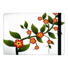 Flower Branch Nature Leaves Plant Samsung Galaxy Tab Pro 10 1  Flip Case