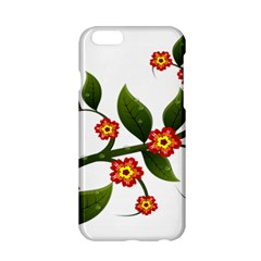 Flower Branch Nature Leaves Plant Apple Iphone 6/6s Hardshell Case