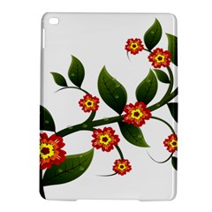 Flower Branch Nature Leaves Plant Ipad Air 2 Hardshell Cases