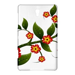 Flower Branch Nature Leaves Plant Samsung Galaxy Tab S (8 4 ) Hardshell Case