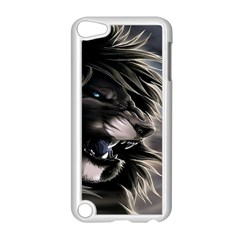 Angry Lion Digital Art Hd Apple Ipod Touch 5 Case (white)