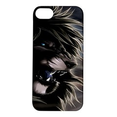 Angry Lion Digital Art Hd Apple Iphone 5s/ Se Hardshell Case