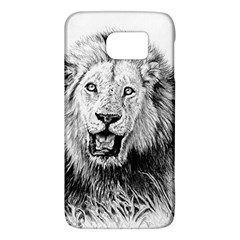 Lion Wildlife Art And Illustration Pencil Galaxy S6