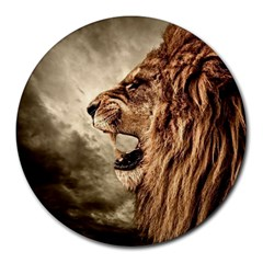 Roaring Lion Round Mousepads