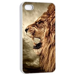 Roaring Lion Apple Iphone 4/4s Seamless Case (white)
