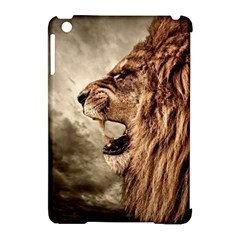 Roaring Lion Apple Ipad Mini Hardshell Case (compatible With Smart Cover)