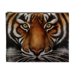 The Tiger Face Cosmetic Bag (xl)