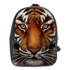 The Tiger Face School Bag (large)