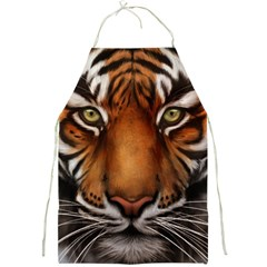 The Tiger Face Full Print Aprons