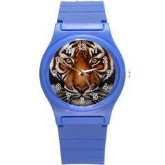 The Tiger Face Round Plastic Sport Watch (s)