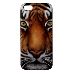 The Tiger Face Iphone 5s/ Se Premium Hardshell Case