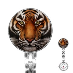 The Tiger Face Stainless Steel Nurses Watch