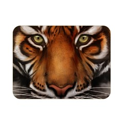 The Tiger Face Double Sided Flano Blanket (mini)