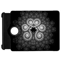 Fractal Filigree Lace Vintage Kindle Fire Hd 7