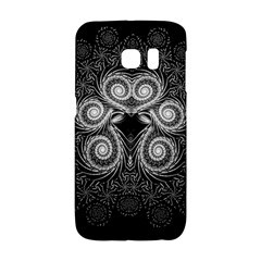 Fractal Filigree Lace Vintage Galaxy S6 Edge