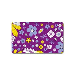 Floral Flowers Magnet (name Card)