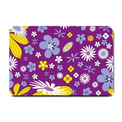 Floral Flowers Small Doormat