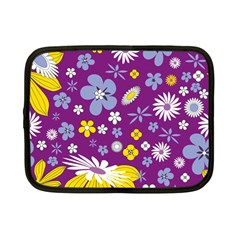 Floral Flowers Netbook Case (small)