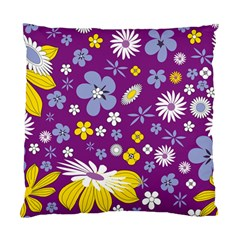 Floral Flowers Standard Cushion Case (one Side)