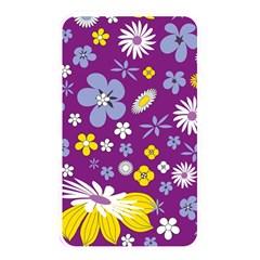 Floral Flowers Memory Card Reader