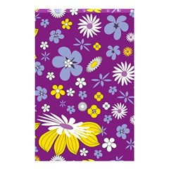 Floral Flowers Shower Curtain 48  X 72  (small)