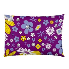 Floral Flowers Pillow Case (two Sides)