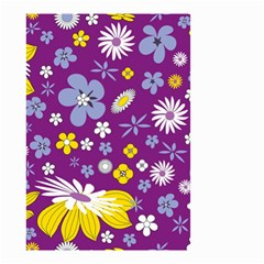 Floral Flowers Small Garden Flag (two Sides)