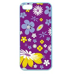 Floral Flowers Apple Seamless Iphone 5 Case (color)