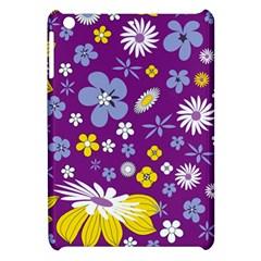 Floral Flowers Apple Ipad Mini Hardshell Case