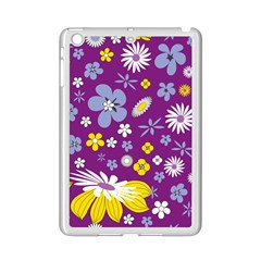 Floral Flowers Ipad Mini 2 Enamel Coated Cases