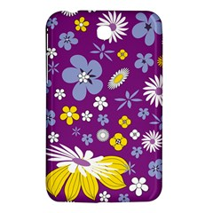 Floral Flowers Samsung Galaxy Tab 3 (7 ) P3200 Hardshell Case