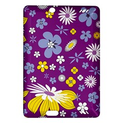 Floral Flowers Amazon Kindle Fire Hd (2013) Hardshell Case