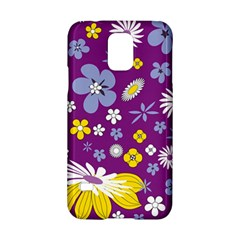 Floral Flowers Samsung Galaxy S5 Hardshell Case