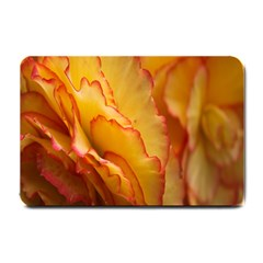Flowers Leaves Leaf Floral Summer Small Doormat
