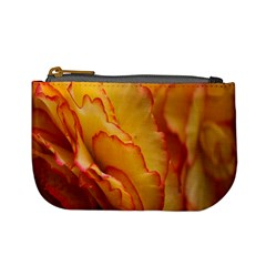 Flowers Leaves Leaf Floral Summer Mini Coin Purses