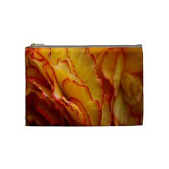 Flowers Leaves Leaf Floral Summer Cosmetic Bag (medium)