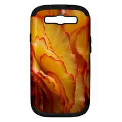Flowers Leaves Leaf Floral Summer Samsung Galaxy S Iii Hardshell Case (pc+silicone)