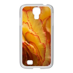Flowers Leaves Leaf Floral Summer Samsung Galaxy S4 I9500/ I9505 Case (white)