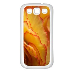 Flowers Leaves Leaf Floral Summer Samsung Galaxy S3 Back Case (white)