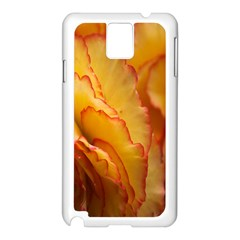 Flowers Leaves Leaf Floral Summer Samsung Galaxy Note 3 N9005 Case (white)