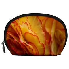 Flowers Leaves Leaf Floral Summer Accessory Pouches (large)